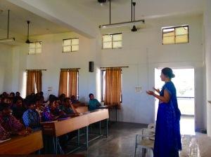 Jayashree Sanghani introducing PTSD